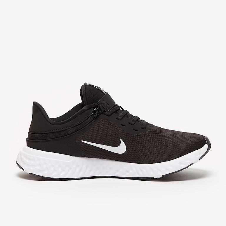 nike nike revolution 5 flyease (psv) cq4648 004 nero scarpe da ginnastica unisex bambino