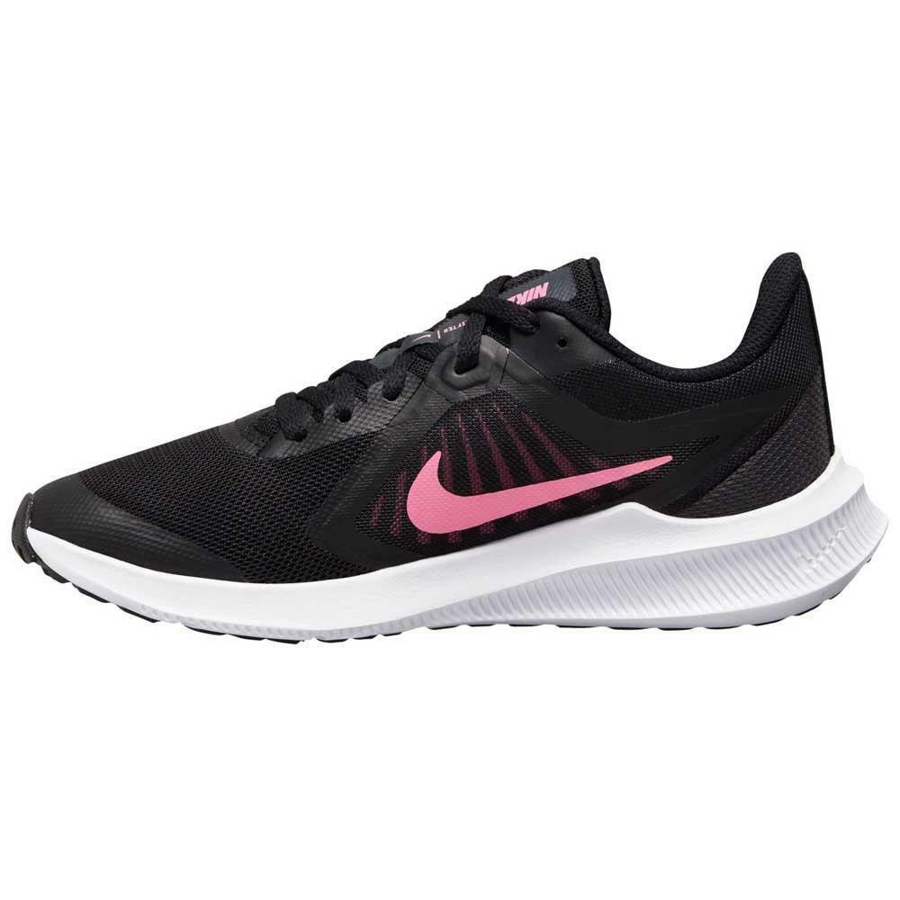 nike nike downshifter 10 (gs) cj2066 002 nero scarpe da running unisex