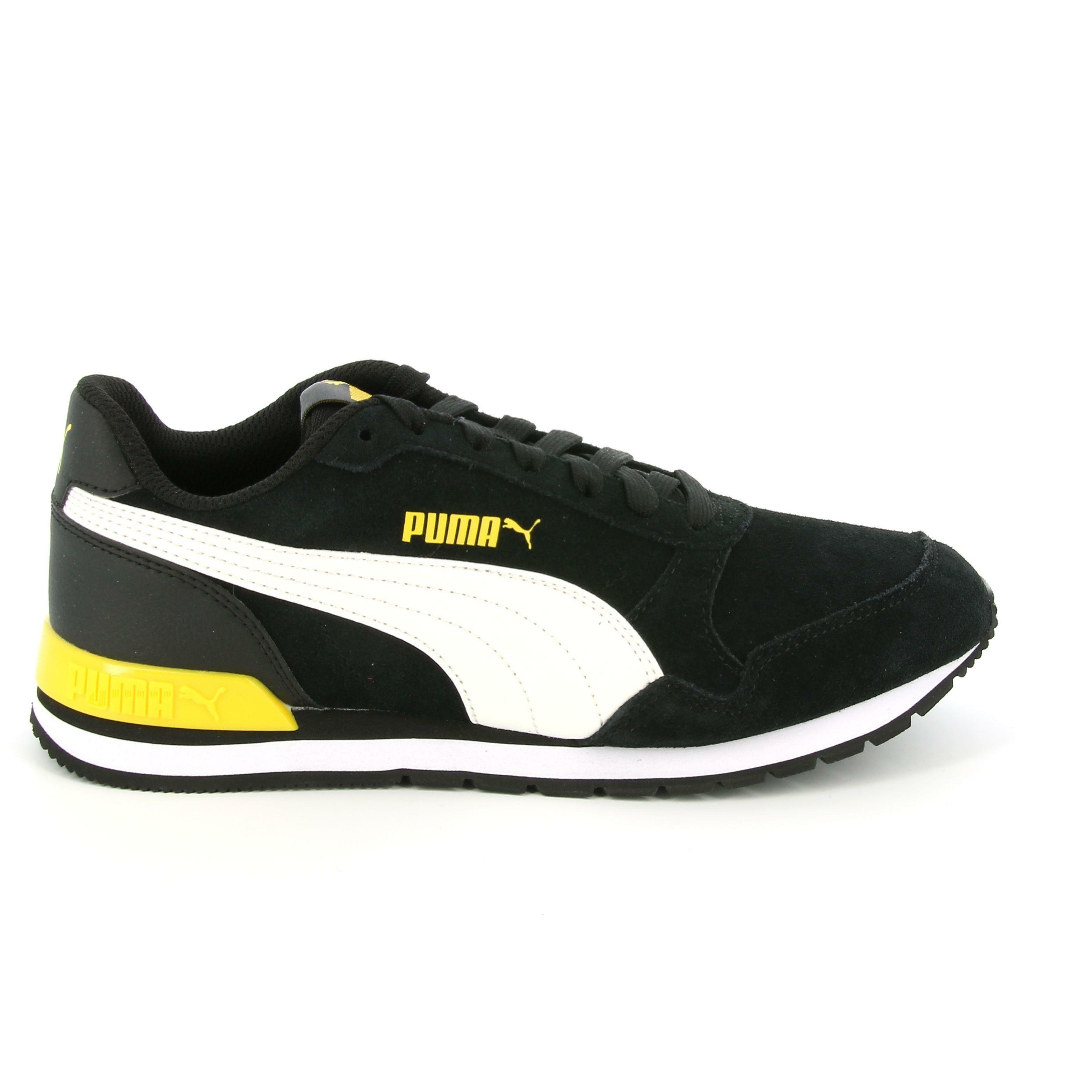 puma puma st runner v2 sd jr 366000 008 scarpa sportiva unisex adulto nero