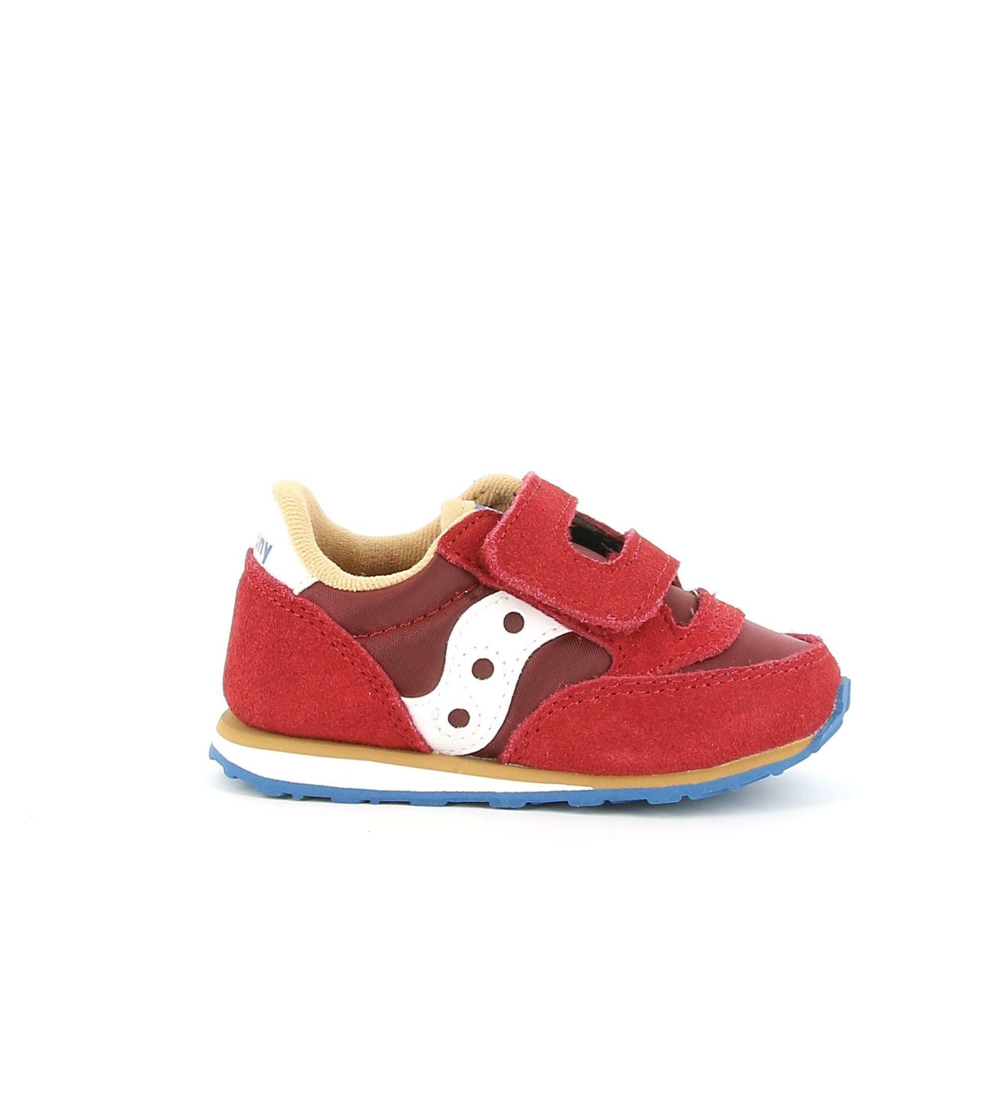 saucony saucony jazz baby sneaker bordeaux da bambino sl263370