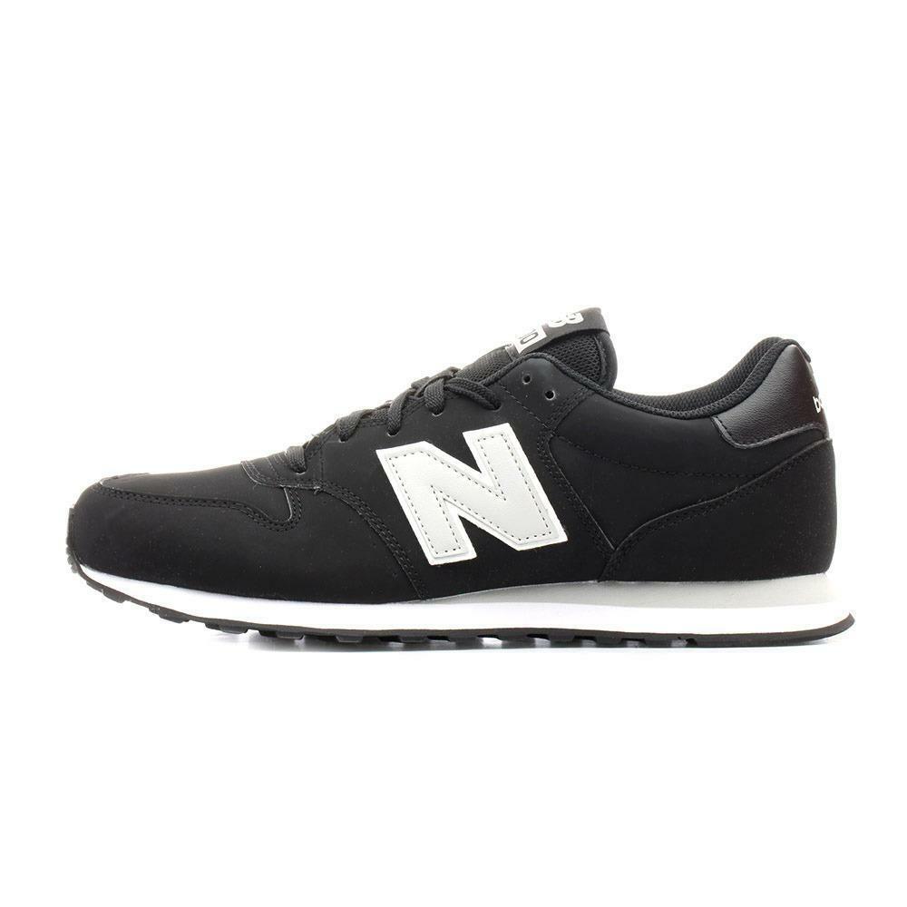 new balance new balance sportivo gm500bkg nero scarpe sportive uomo