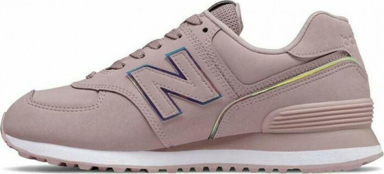 new balance new balance sportivo wl574clh rosa scarpe sportive donna