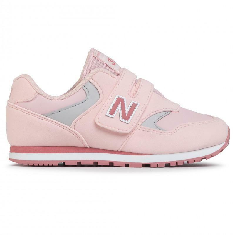 new balance new balance sportivo yv393cpk rosa scarpe sportive bambina