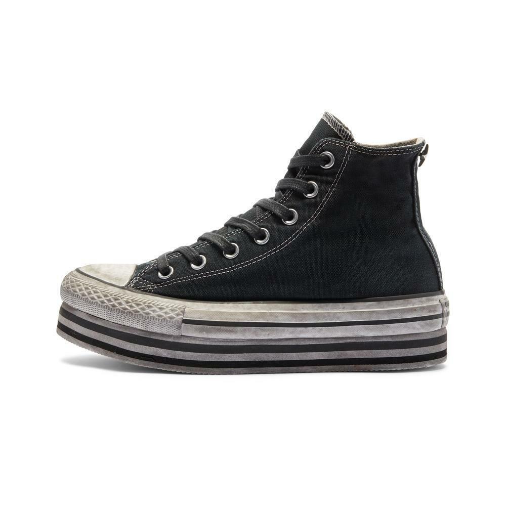 converse converse scarpe chuck taylor all star platform 569127c nero limited ediscion donna