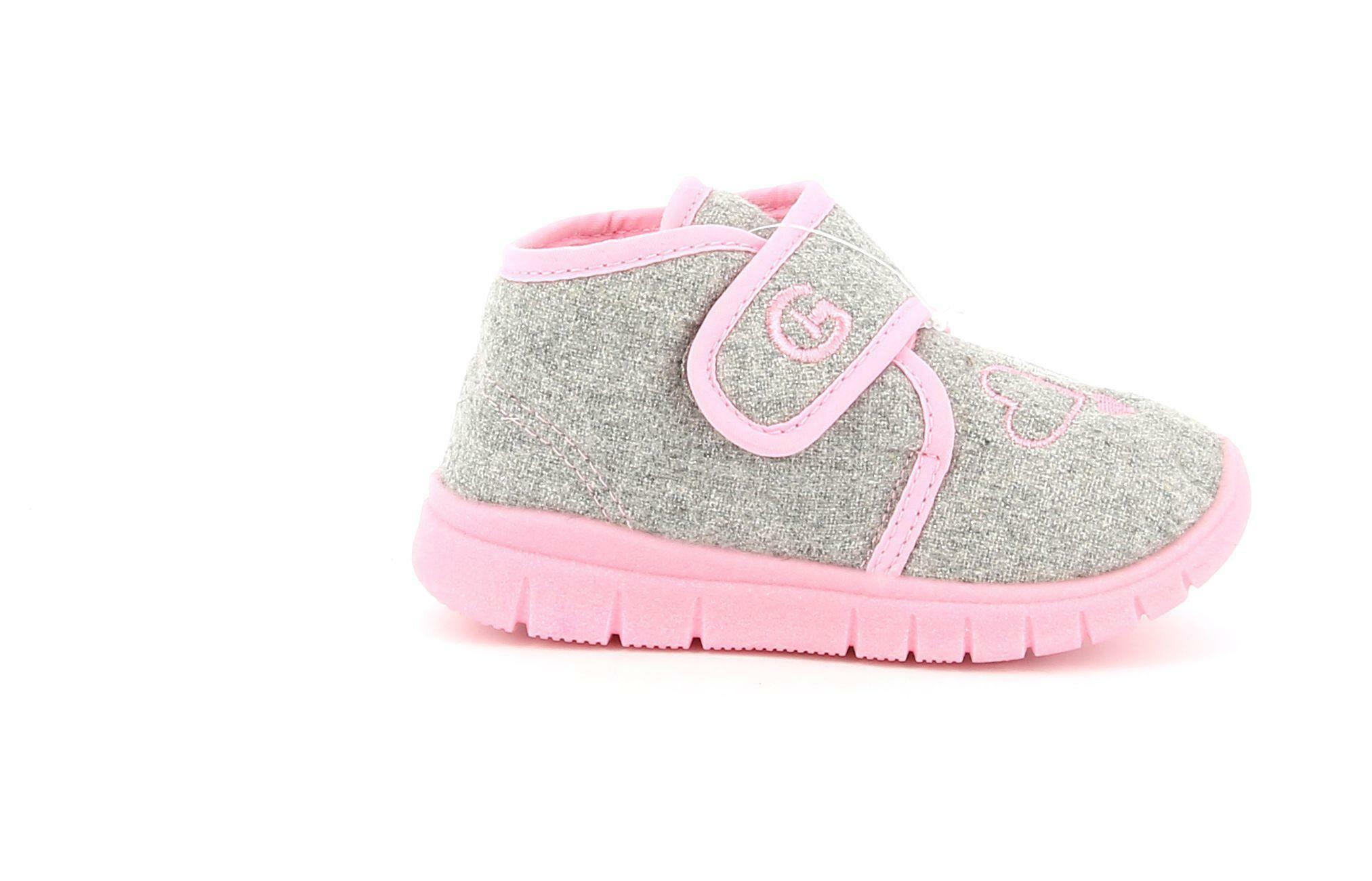 grunland grunland pantofole pa0606 48fitt grigio pantofole bambina