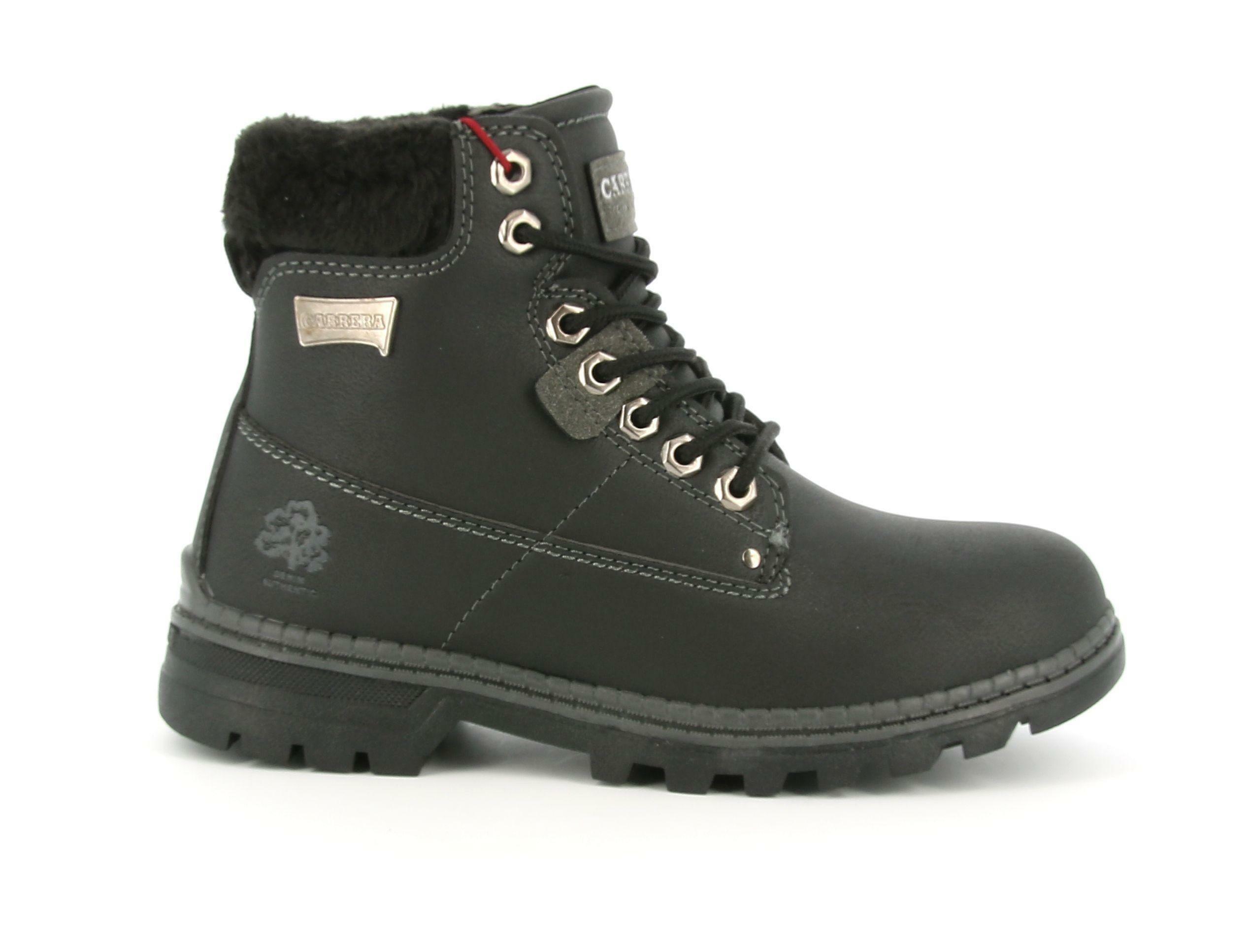 carrera carrera scarponcino 021052 nero scarpe donna