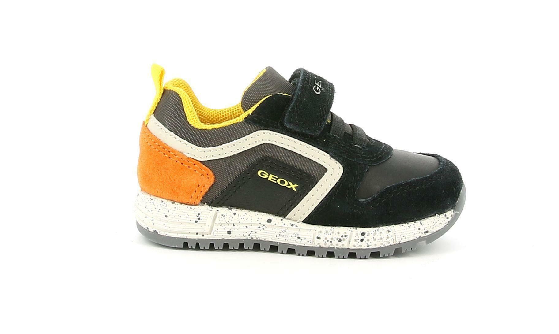 geox geox b alben b. c b043cc 022fu c0038 nero sneakers bimbo