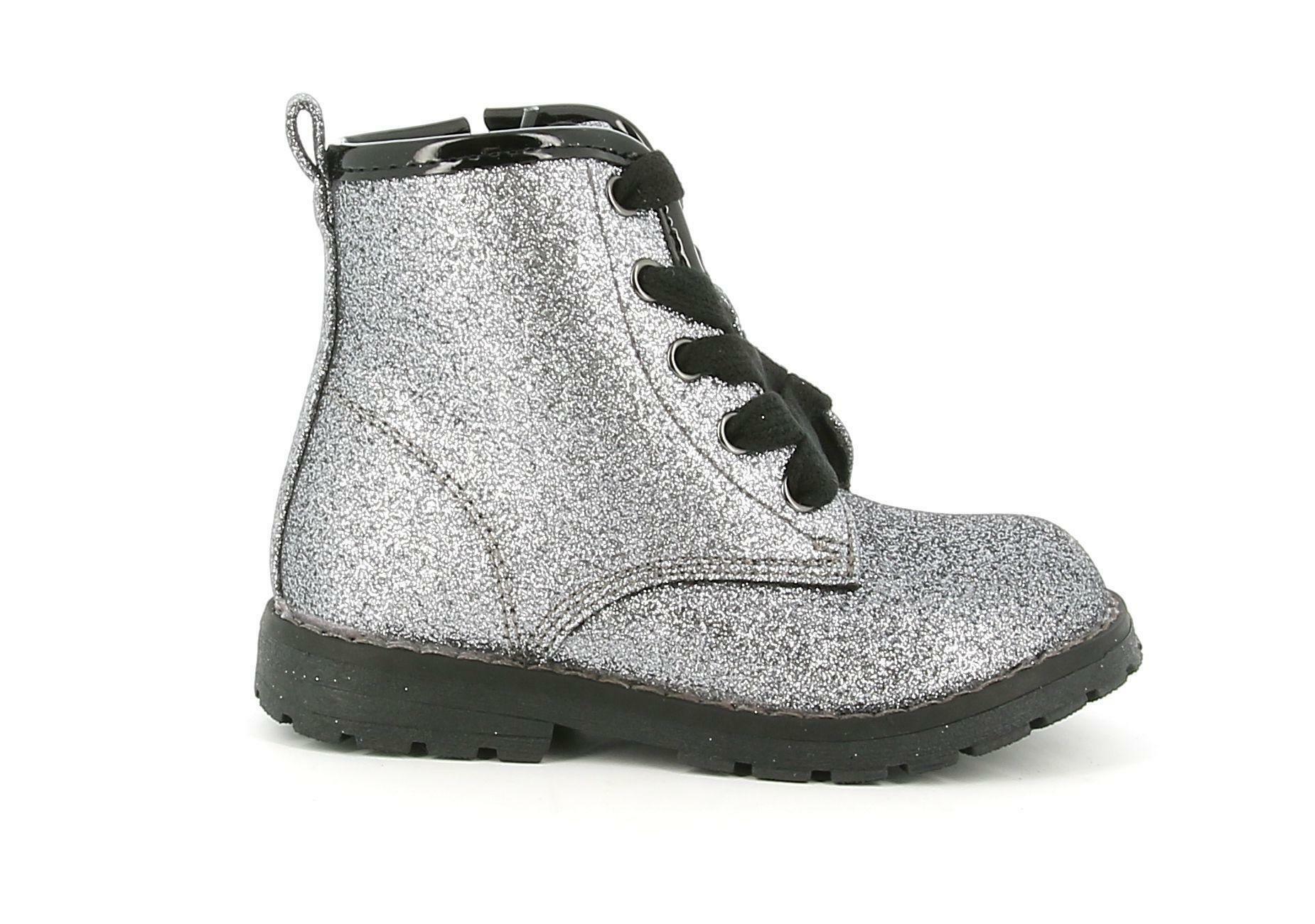 chicco chicco scarponcino steel 62657 argento bambina