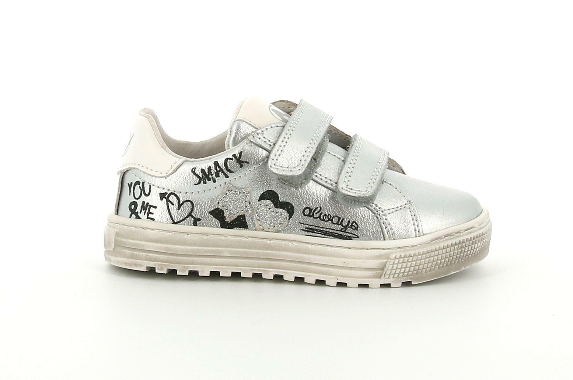 naturino naturino 2015474 02 1q23  argento sneakers bimba