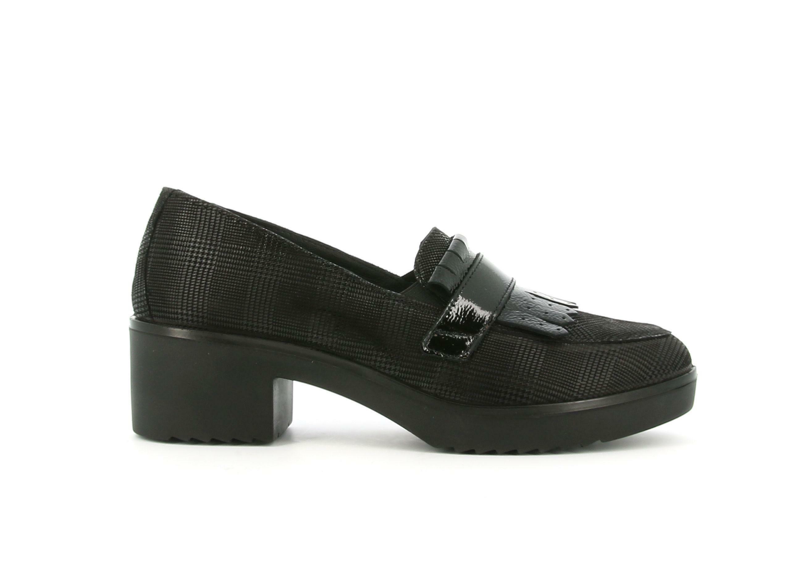 enval enval soft 6250100 nero mocassino donna