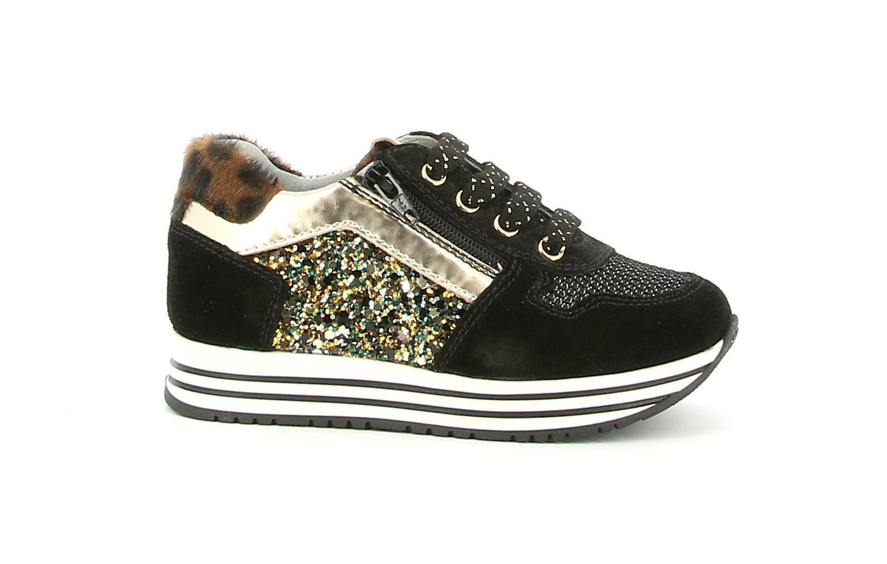 nero giardini nero giardini i021522f 100 nero sneakers bambina