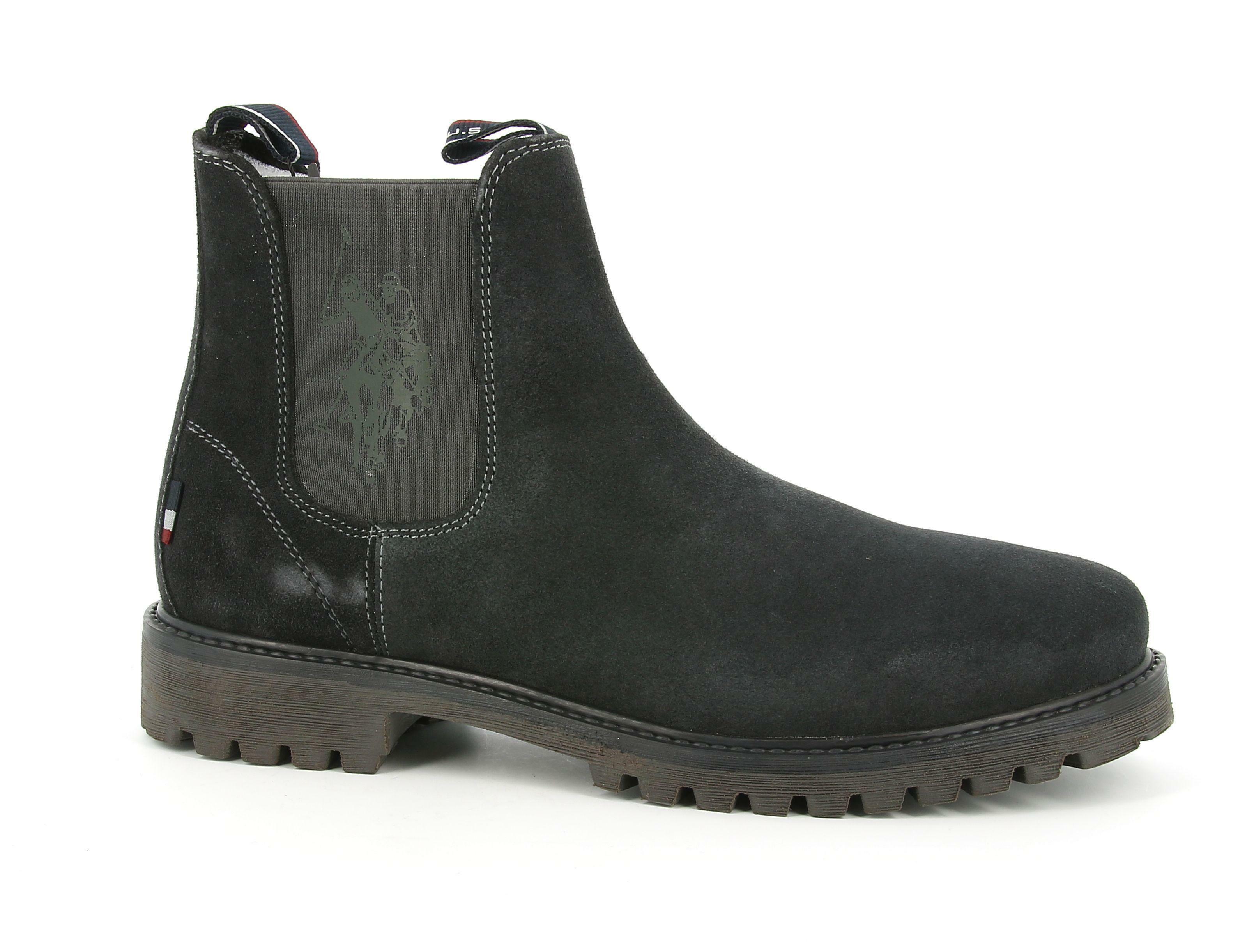 u.s. polo assn. u.s. polo assn. stivaletto boral4133w0/s1 scarpe con lacci uomo dark blu