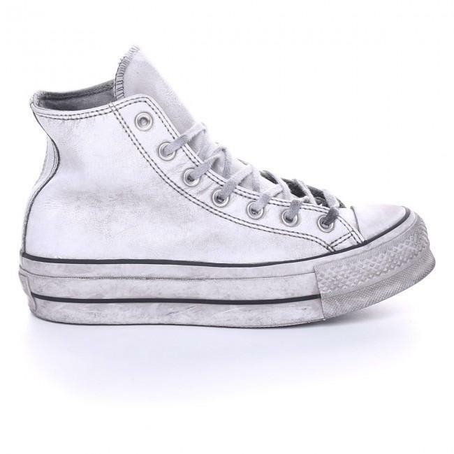 converse scarpe da donna sneaker converse all star platform pelle nera donna ctas lift leath hi 562909c