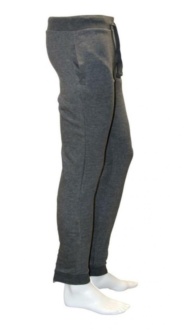 sergio tacchini sergio tacchini pants grey melange white 10009