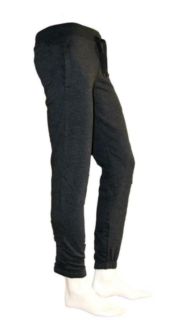 sergio tacchini sergio tacchini elastic pant iconic 10010  sportivo uomo grigio scuro