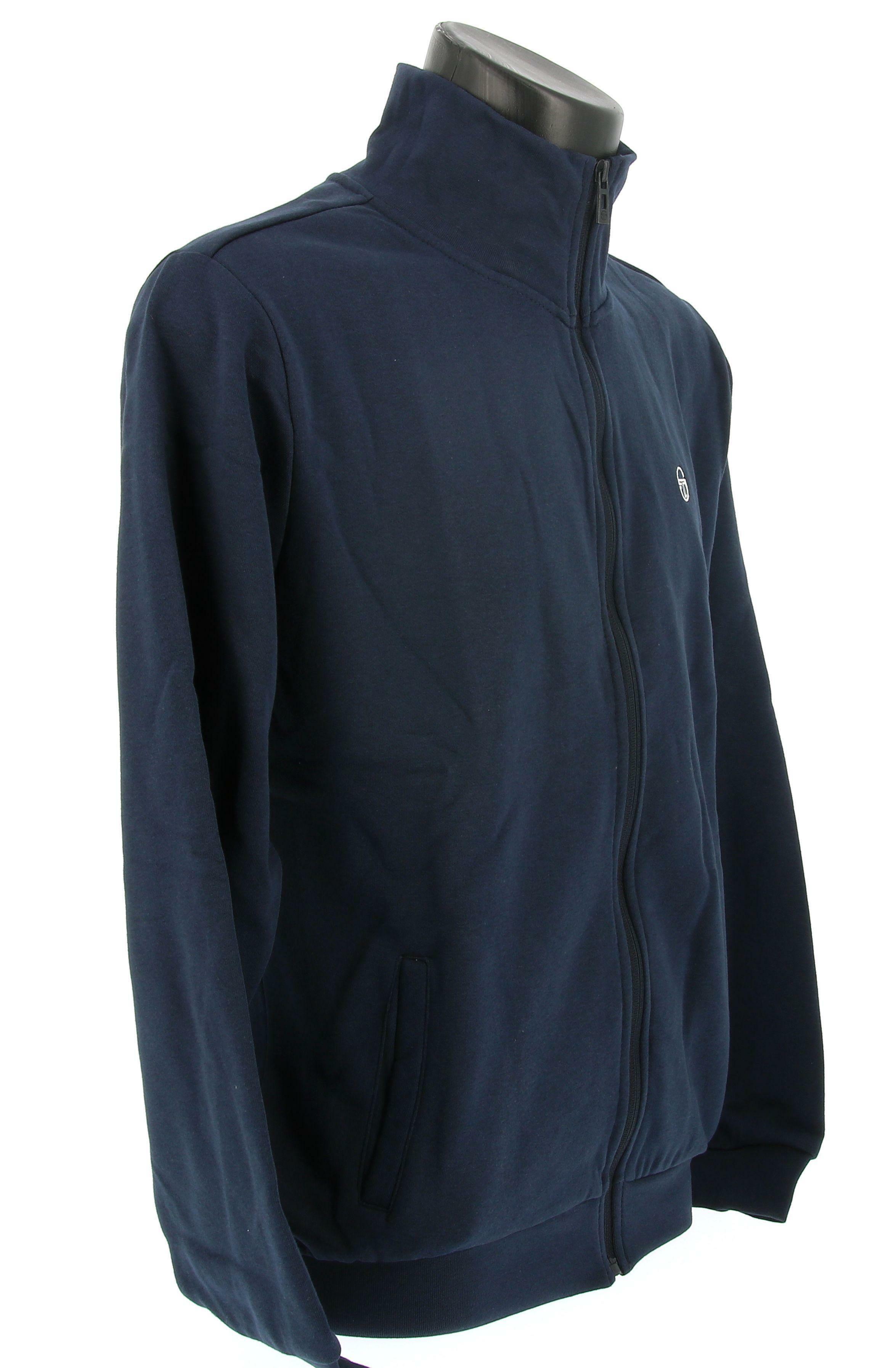 sergio tacchini felpa sergio tacchini 10012 sweater full zip jacket uomo blue