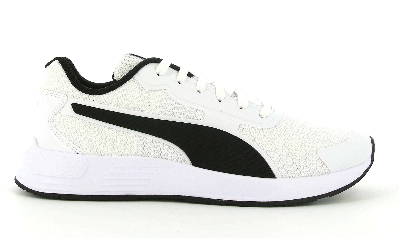 puma puma taper 373018 005 sneaker bassa uomo bianca