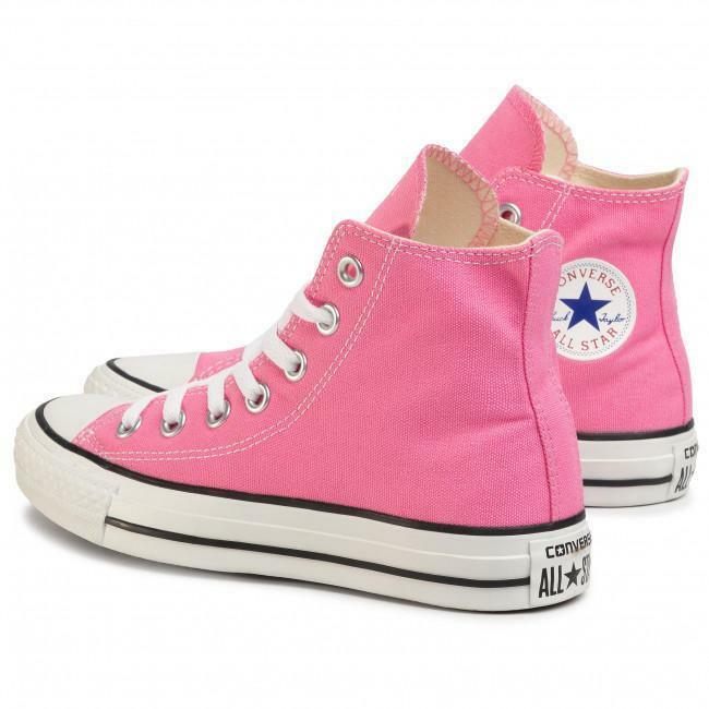 converse converse all star hi bambina 7j234c rosa