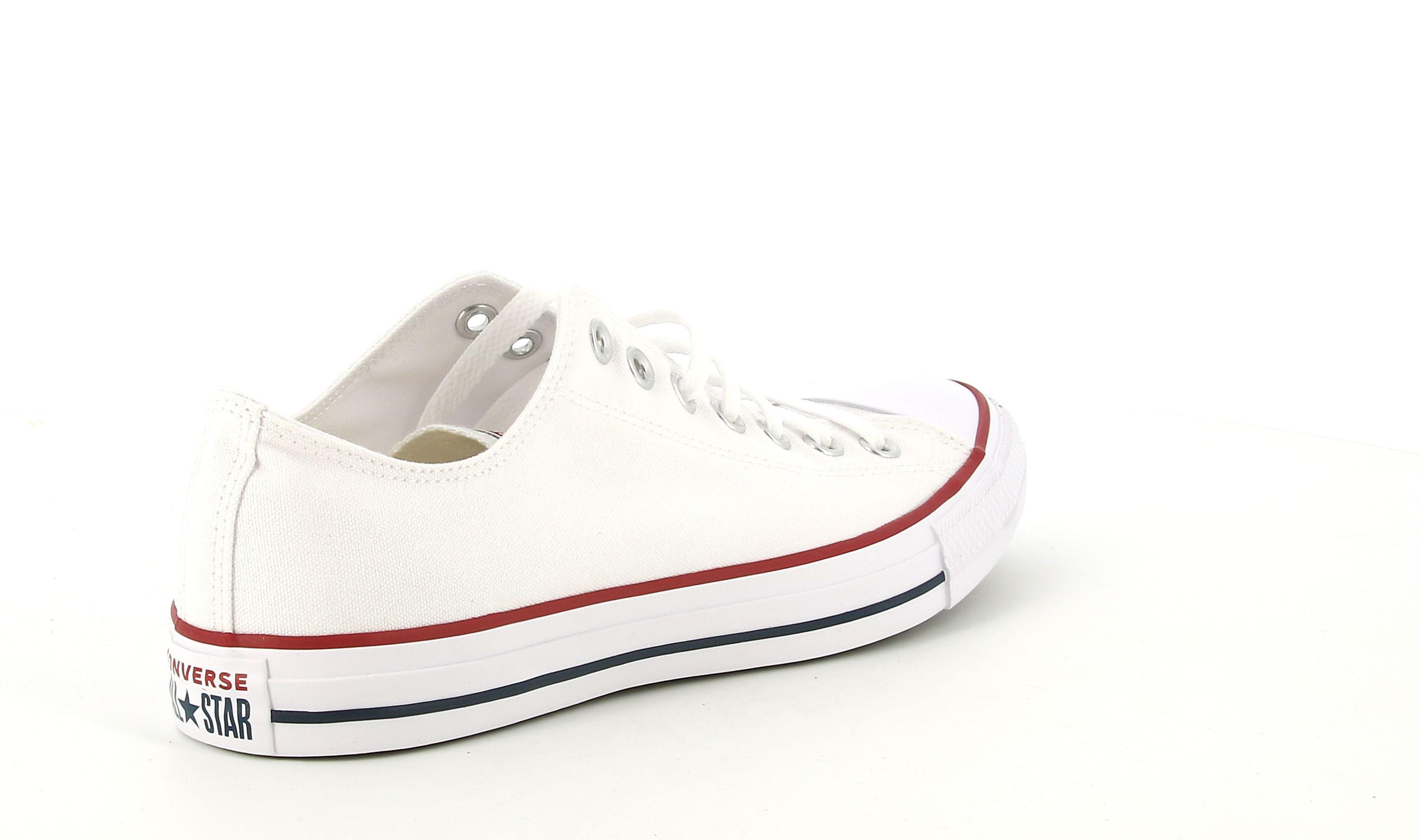 converse converse all star ox unisex m7652c bianco