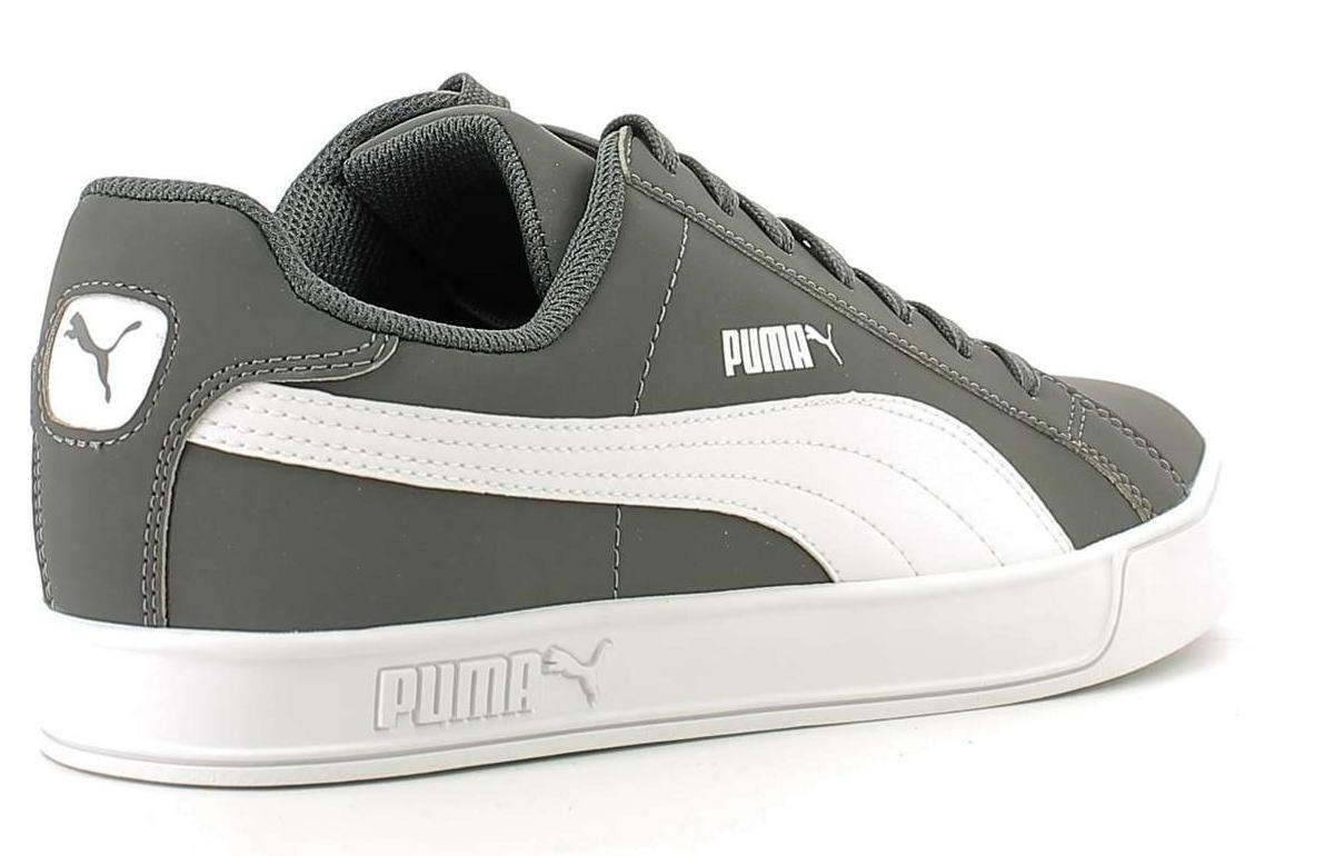 puma smash vulc uomo sneakers bassa 359622 013 grigio
