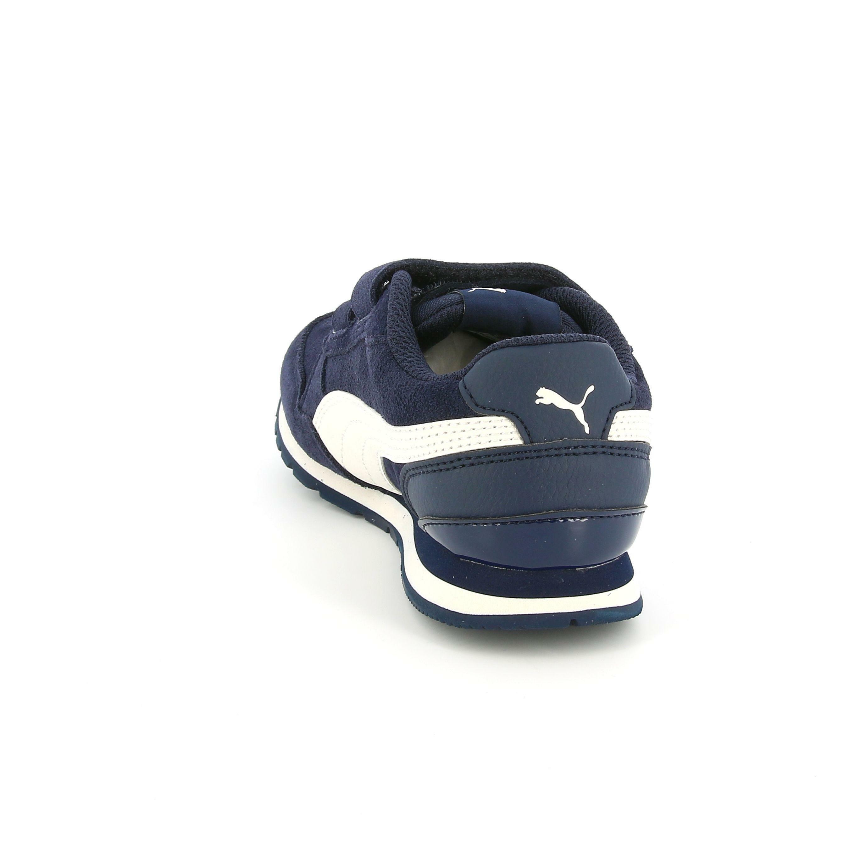 puma puma st runner v2 sd v ps 366001 001 bambino strappo sportivo blu