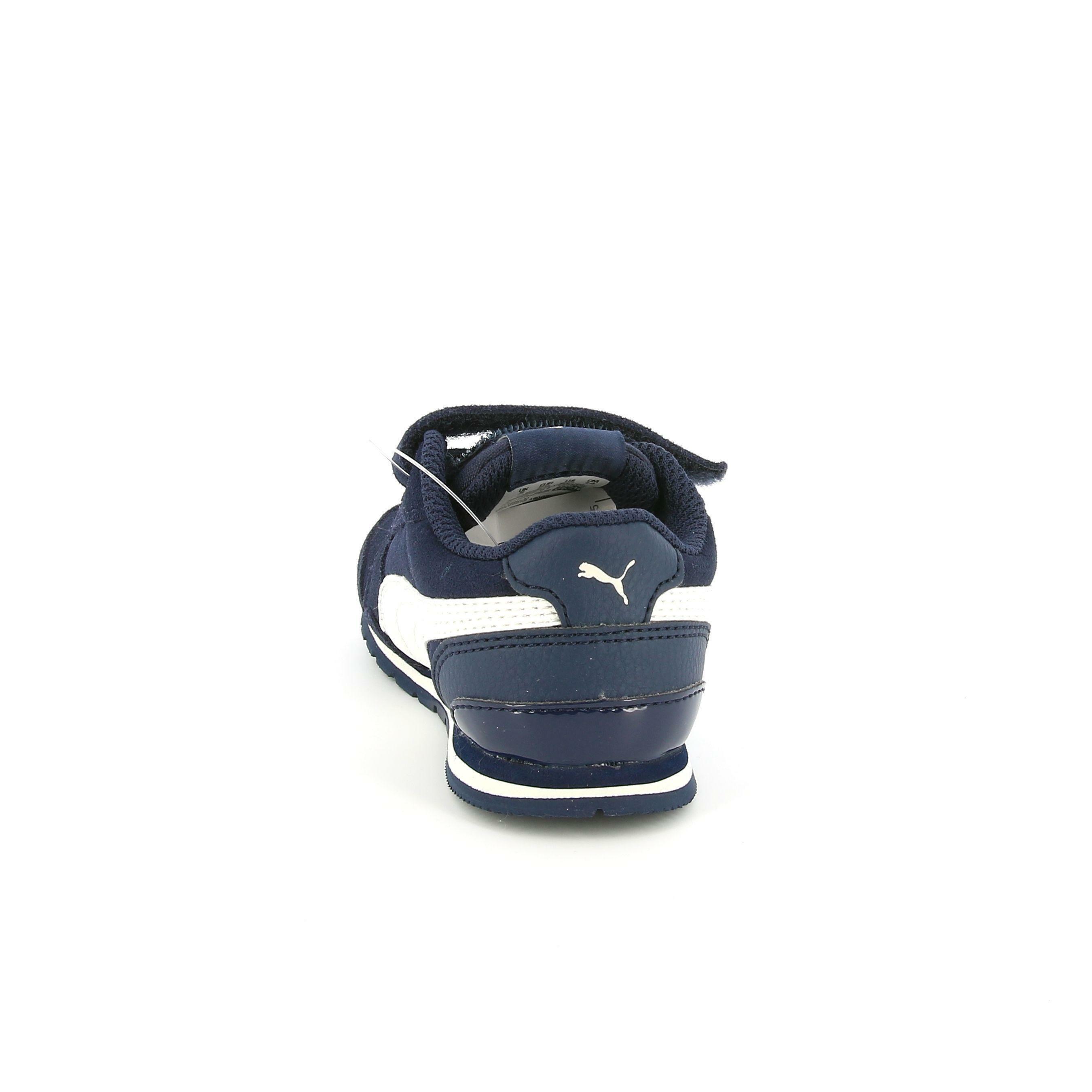 puma puma st runner v2 sd v inf 366002 001 bambino strappo sportivo  blu