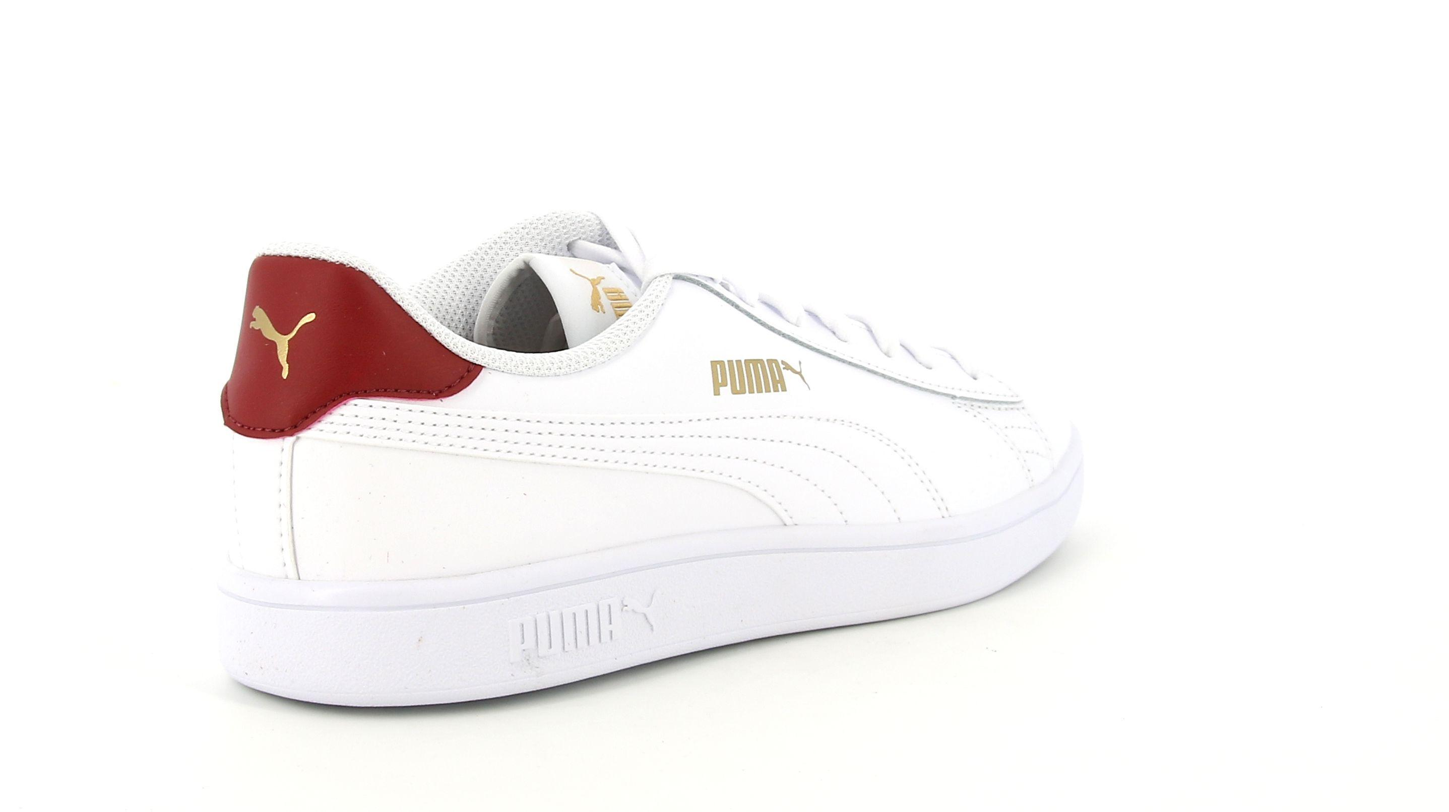 puma smash v2 l uomo sneaker bassa 365215 015 bianca