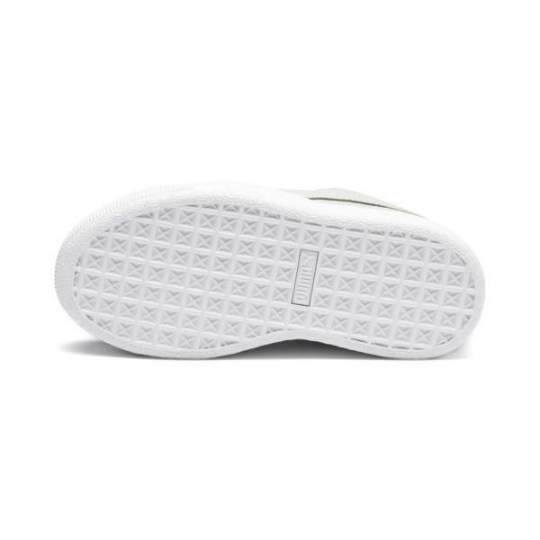 puma puma vikky platform glitz ps bambina scarpe sportiva 370171 009 grigia