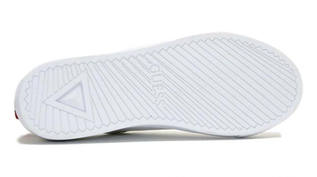 guess guess uomo sneakers bassa fm7luilea12 bianca