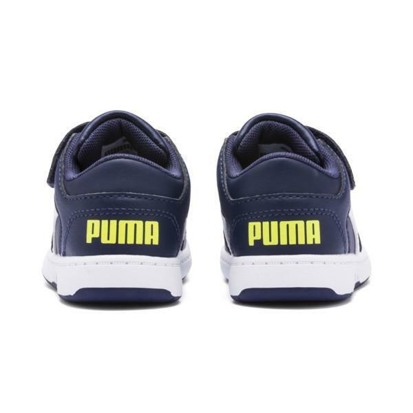 puma puma rebound layup lo sl v ps 370492 004 strappo sportivo bambino blu
