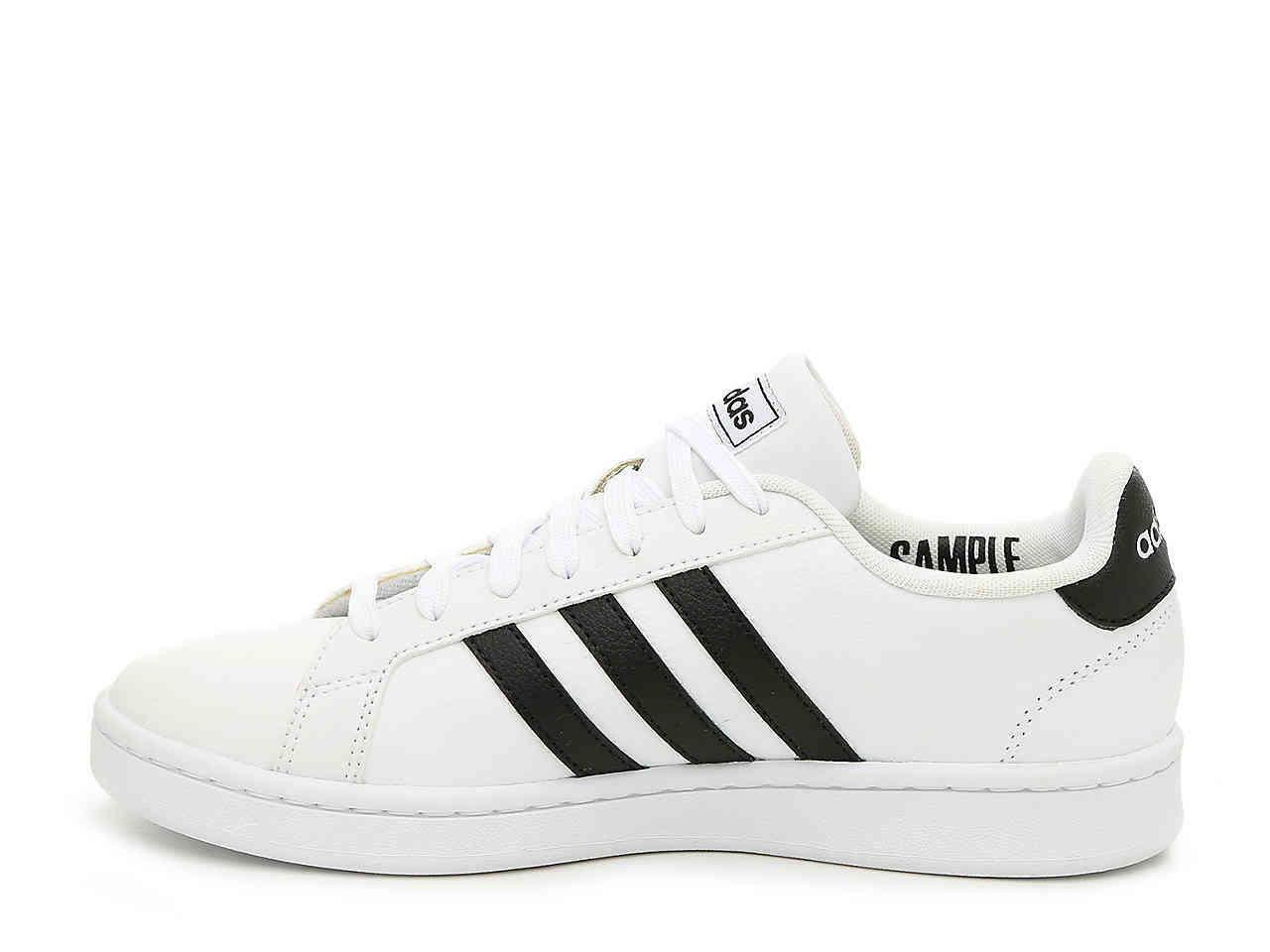 adidas adidas grand court uomo sneaker sportiva  f36392 bianco