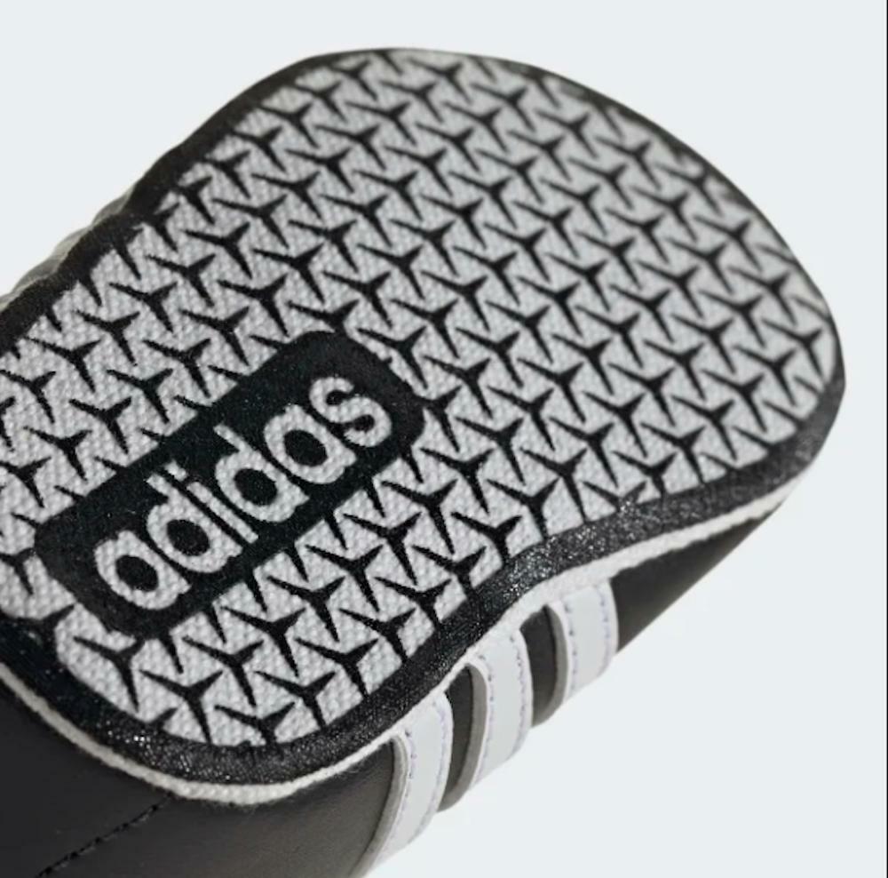 adidas adidas vl court 2.0 bambino culla ee6911 nero