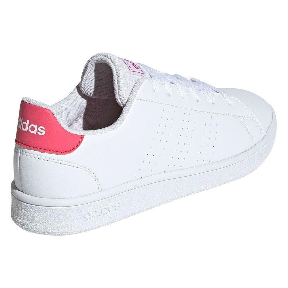 adidas adidas advantage k donna sneaker bassa ef0211 bianco