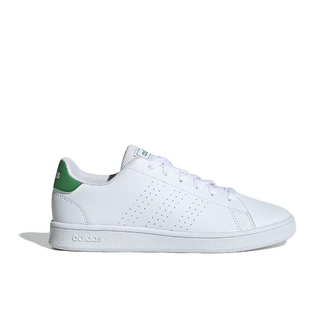 adidas adidas ef0213 advantage k sneaker bassa unisex adulto bianco