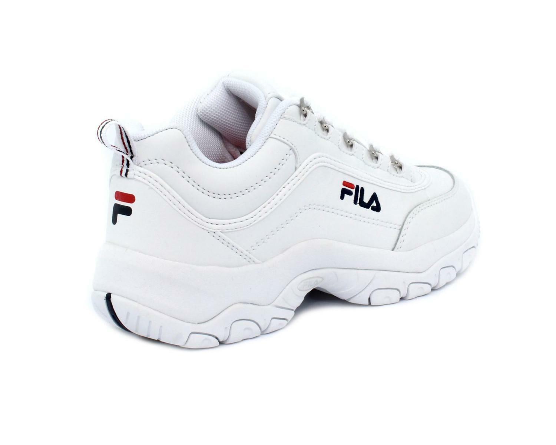 fila fila allacciato sportivo 1010560.1fg bianco scarpe sportive donna