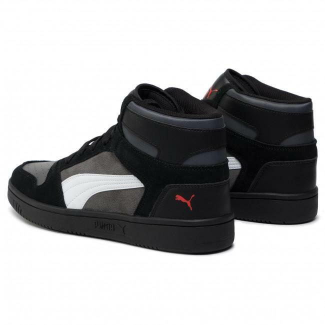 puma puma rebound layup sd sneaker alta uomo 370219 002 nero