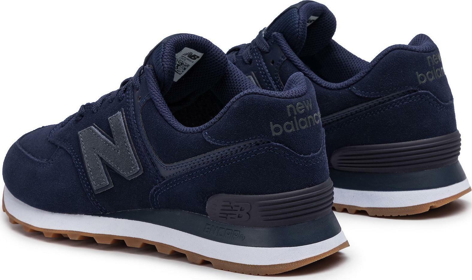 new balance new balance sportivo uomo ml574nfc blu