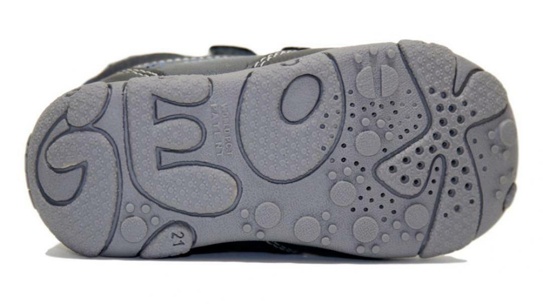 geox geox strappo sportivo bambino b9436b 0meaf c9ak4 grigio