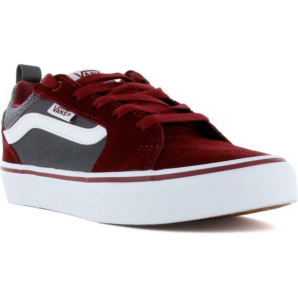 vans vans sneakers bambino vn0a3mvpt2m1 bordeaux