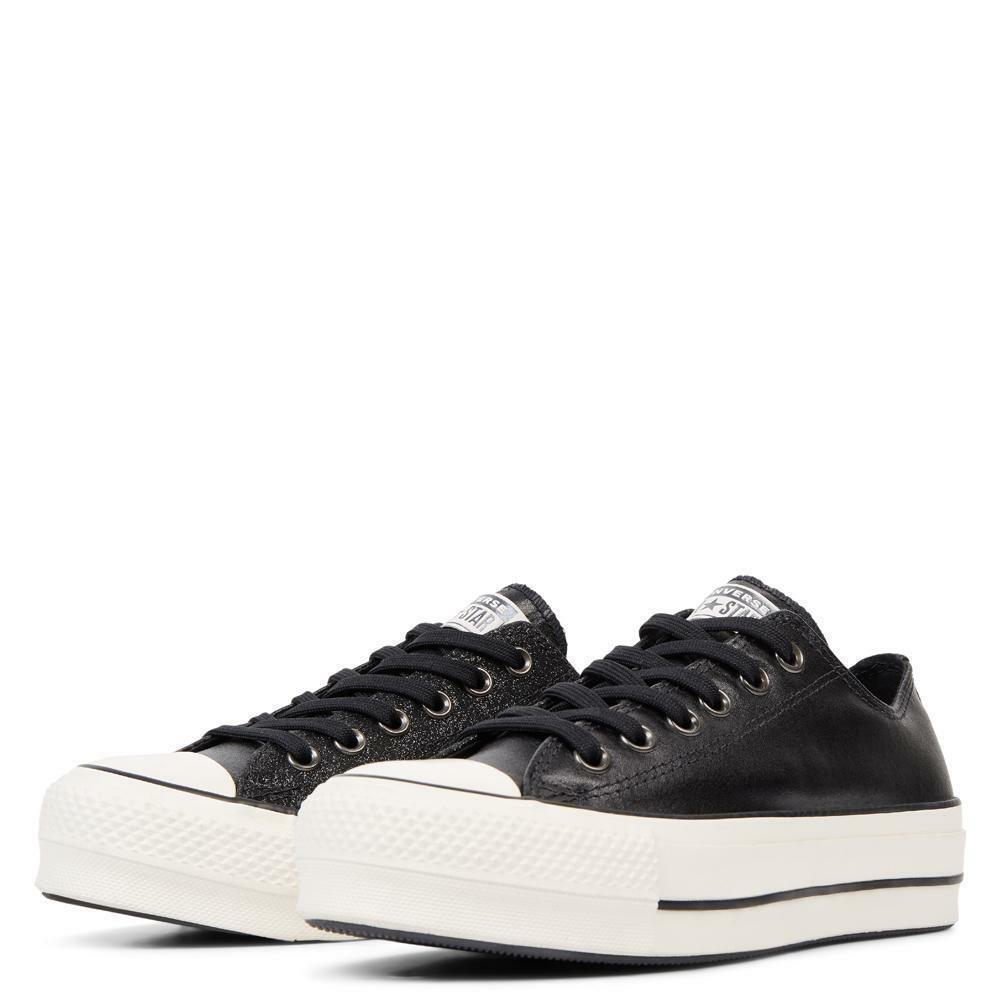 converse converse sneakers zeppa donna 565899c nero