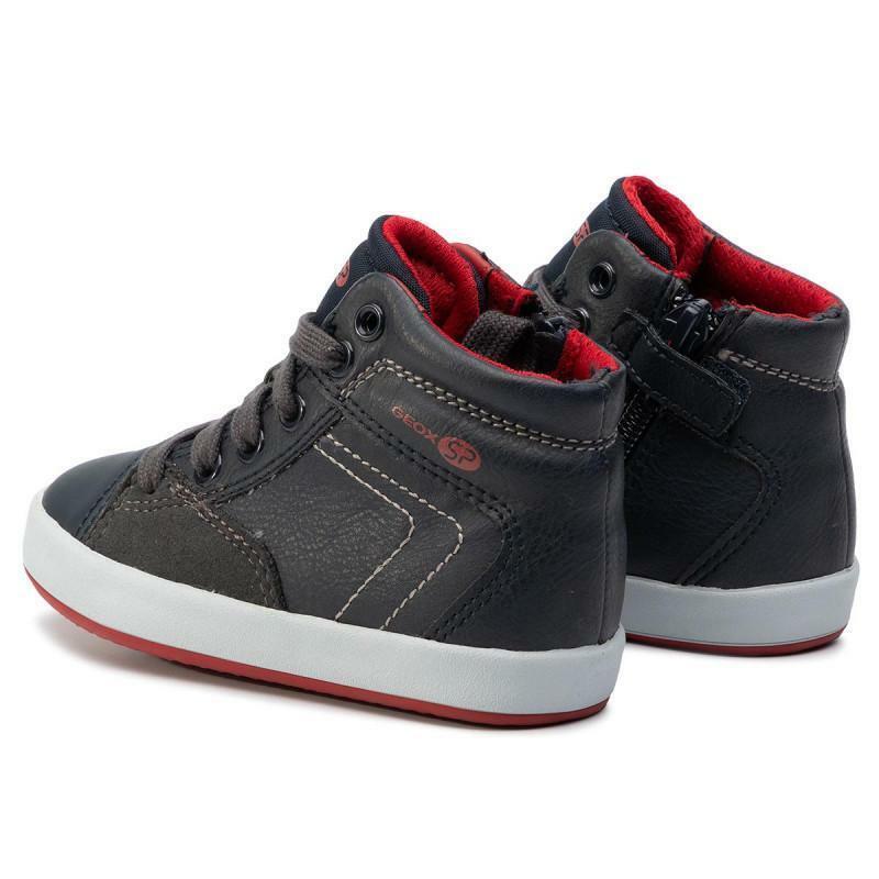 geox geox sneaker bambino j945cc 0mebc c4244 blu rosso