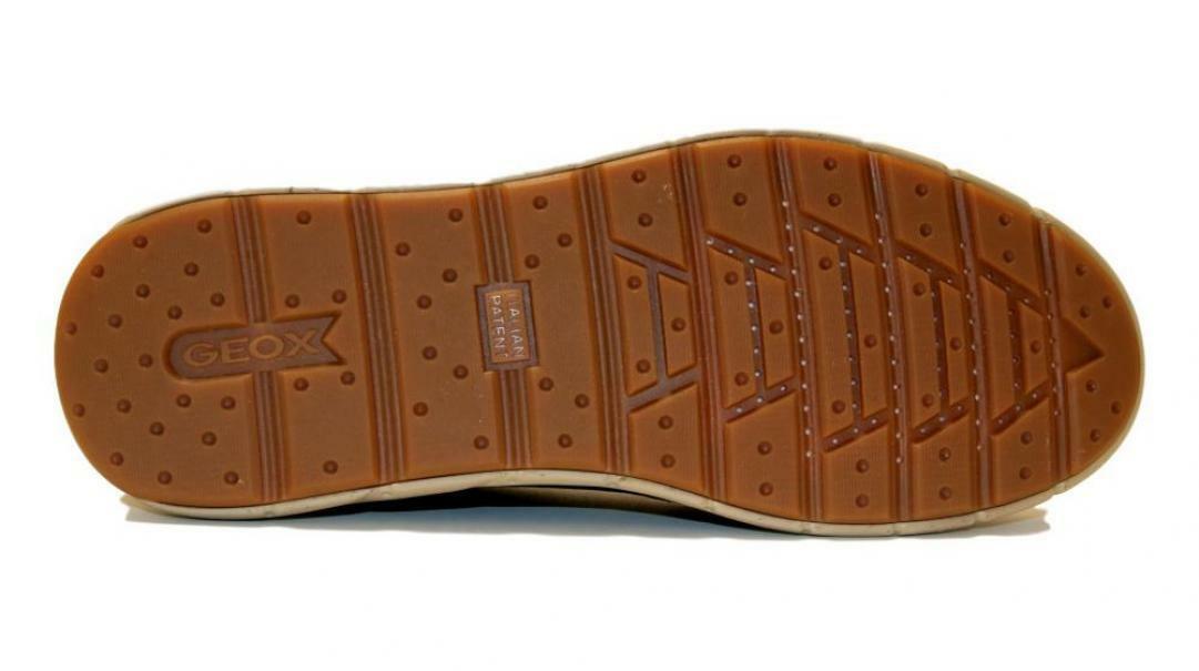 geox geox sneaker uomo u945ua 000lt c6024 grigio scuro