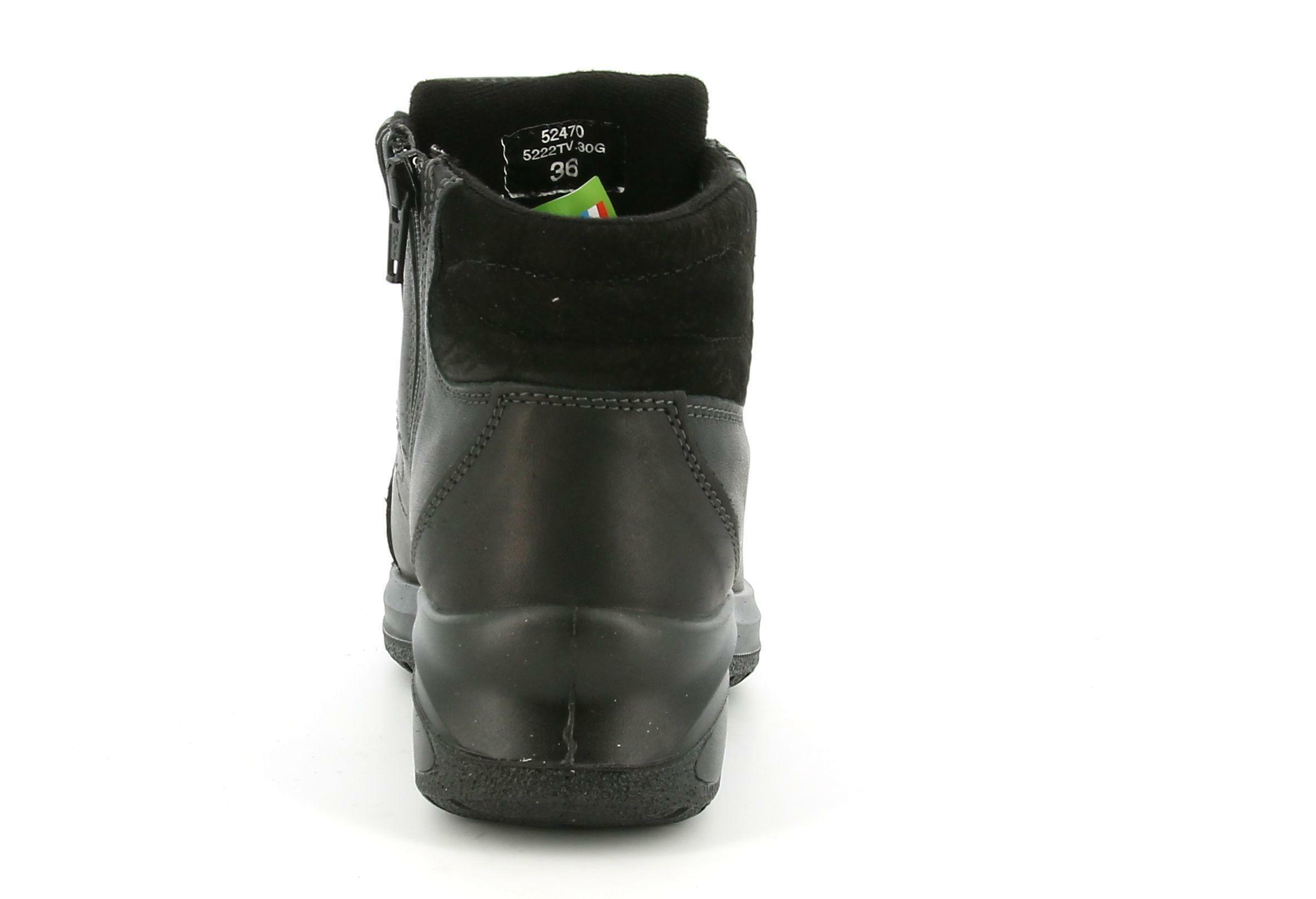 grisport grisport scarponcino 5222tv.30g nero scarpe da donna