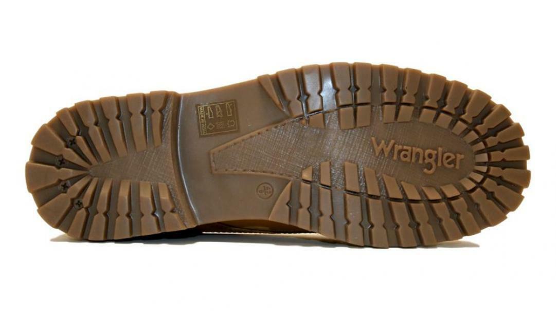 wrangler wrangler scarponcino uomo wm92011a giallo