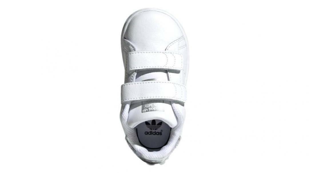 adidas adidas bambino stan smith cf i aq6274 bianco