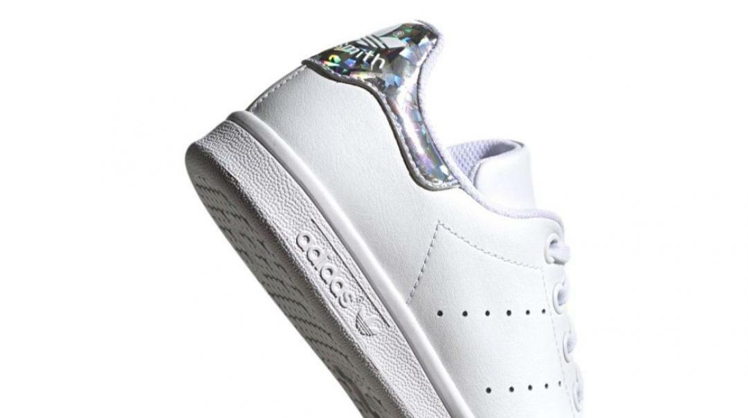 adidas adidas junior stan smith j ee8483 bianco