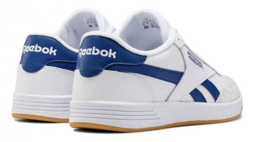 reebok reebok royal techque uomo ef7679 bianco scarpe da tennis
