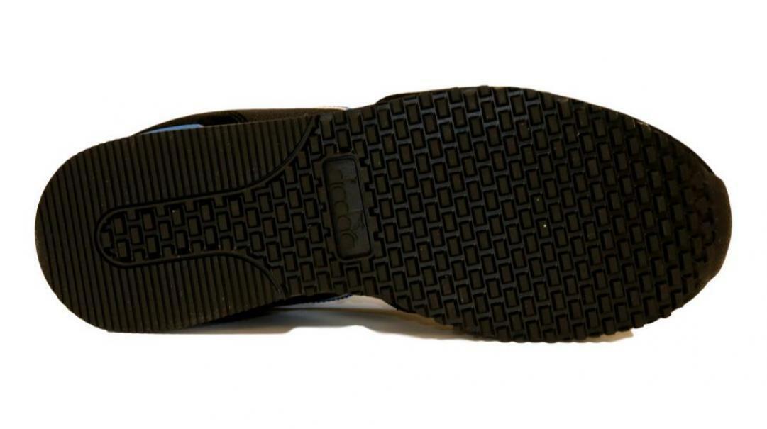 diadora diadora olympia scarpe con lacci uomo 174376 nero/bianco