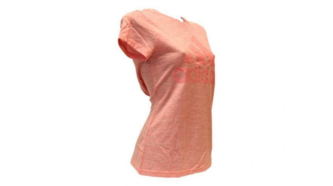 adidas adidas t-shirt donna fl4196 rosa