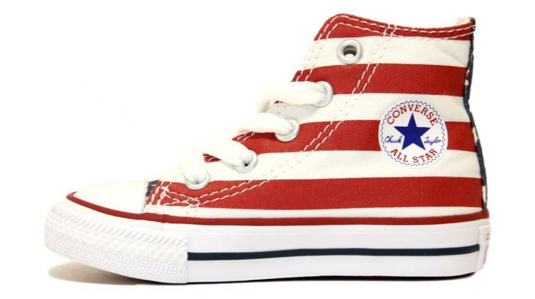 converse converse all star hi stars e bars 3j254 bambino scarpe sportive